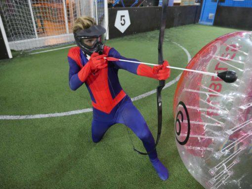 archery tag entre tir à l'arc et paintball