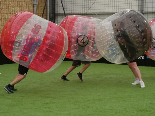 bubble foot paris activité ludique