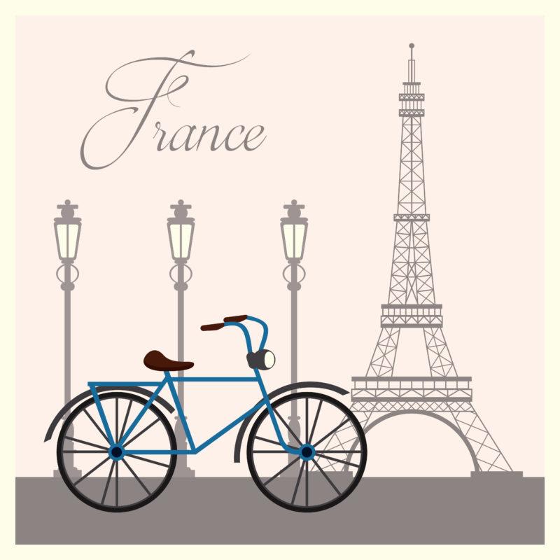 Paris vélo visite