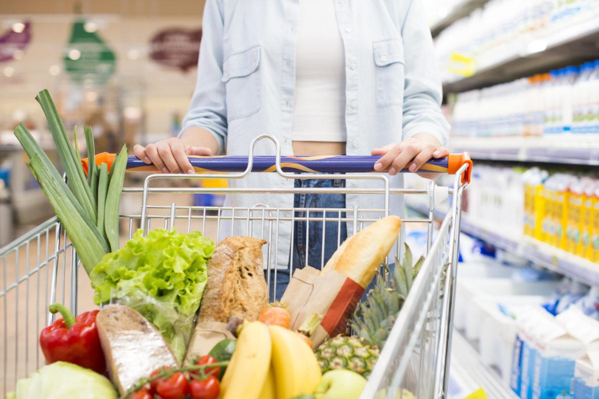 supermarchés produits alimentaires