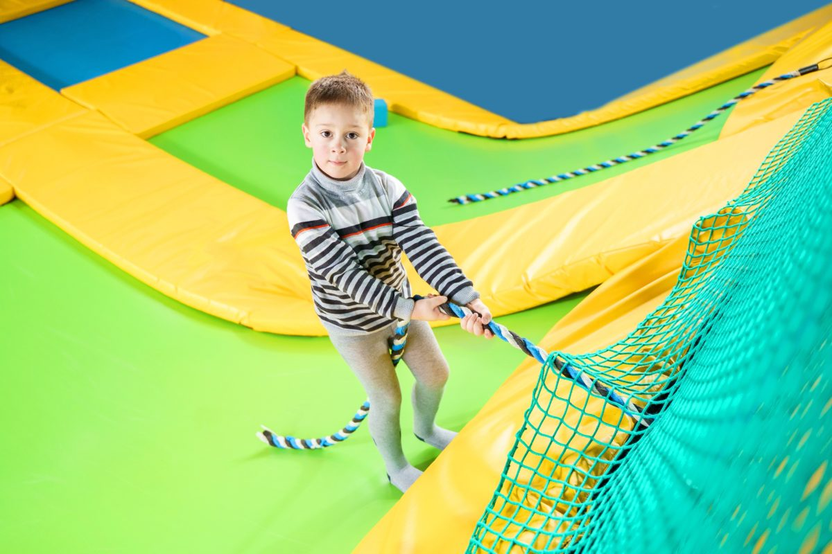 trampoline park enfants