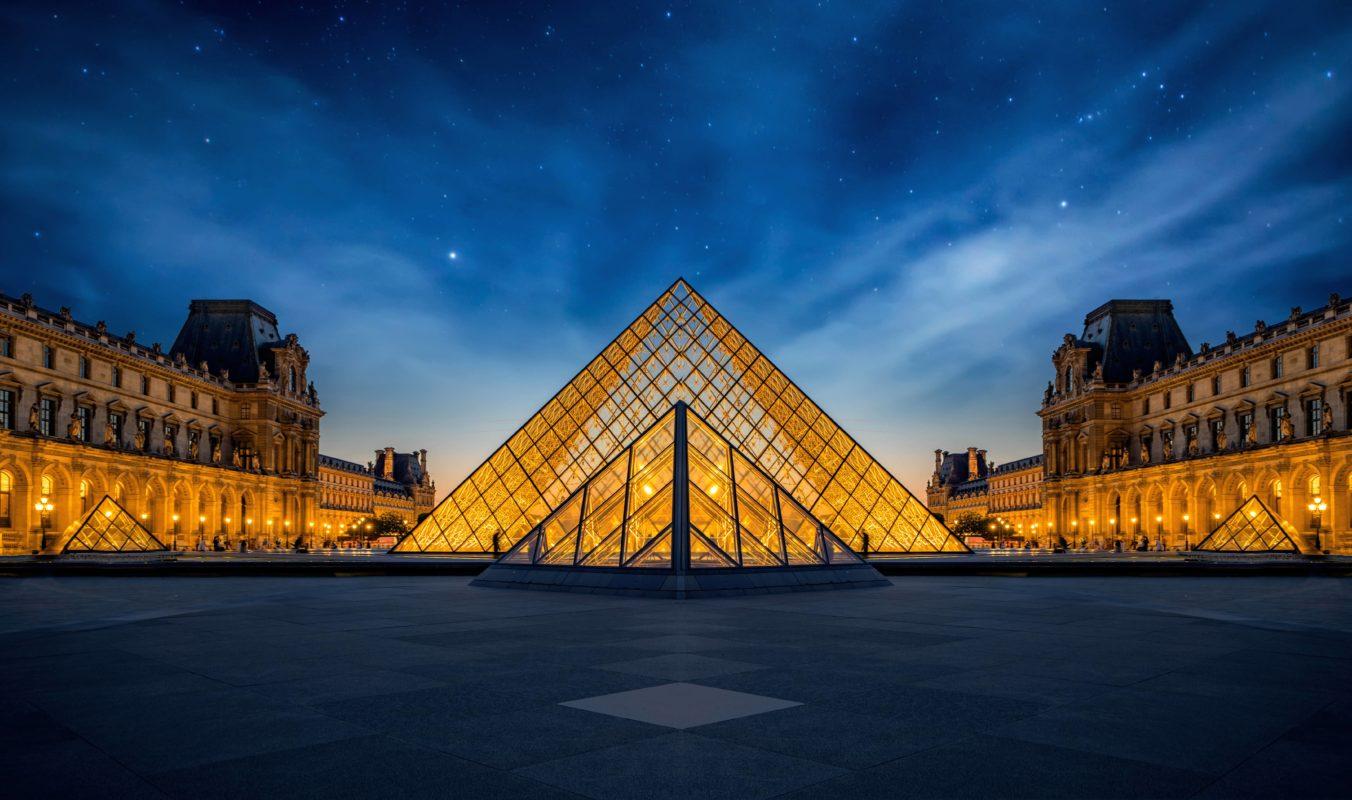 Musée Louvre Paris Panoramic